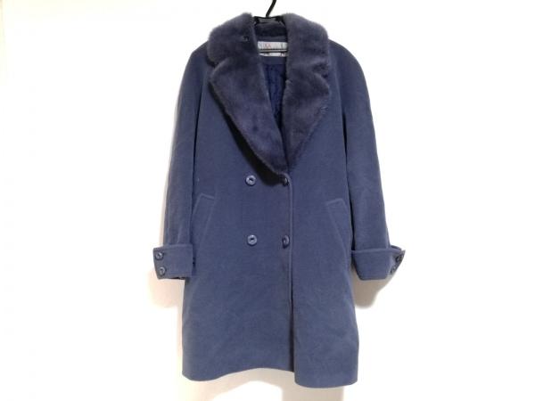 Altima(アルティマ) コート サイズF レディース美品  ブルー 冬物