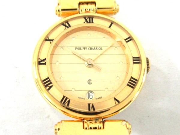 PHILIPPE CHARRIOL(フィリップシャリオール) 腕時計 - レディース ゴールド