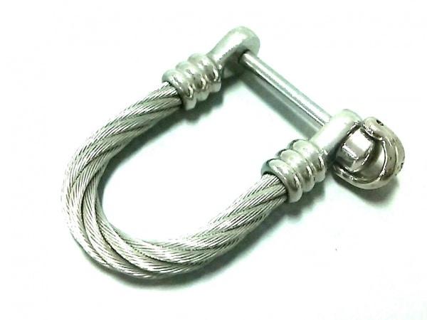 PHILIPPE CHARRIOL(フィリップシャリオール) 小物美品  シルバー キーリング 金属素材