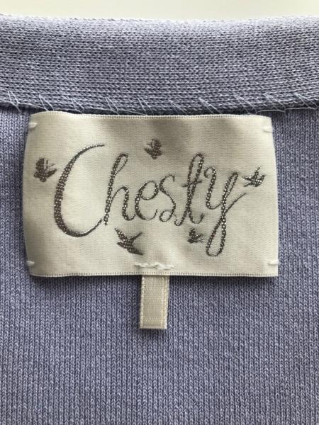 Chesty(チェスティ) ポンチョ サイズF レディース美品  パープル