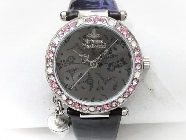 VivienneWestwood(ヴィヴィアン) 腕時計美品  VV006GYBK レディース ダークグレー