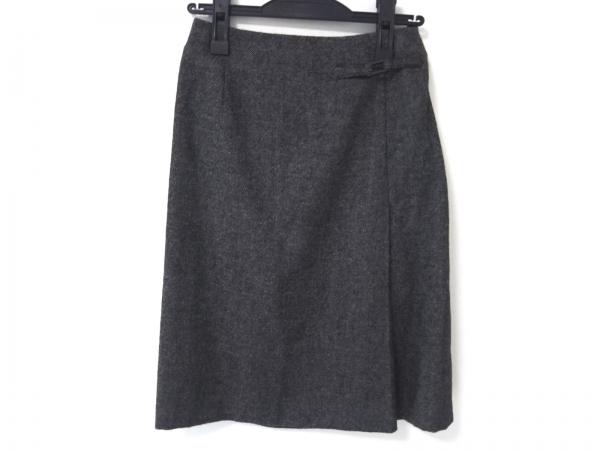 AKRIS(アクリス) スカート レディース美品  ダークグレー