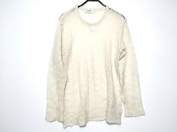 KENZO(ケンゾー) 長袖セーター サイズ38 M レディース美品  アイボリー Composition