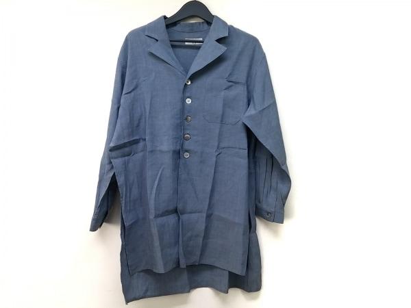 Y's(ワイズ) 長袖シャツ メンズ ブルー