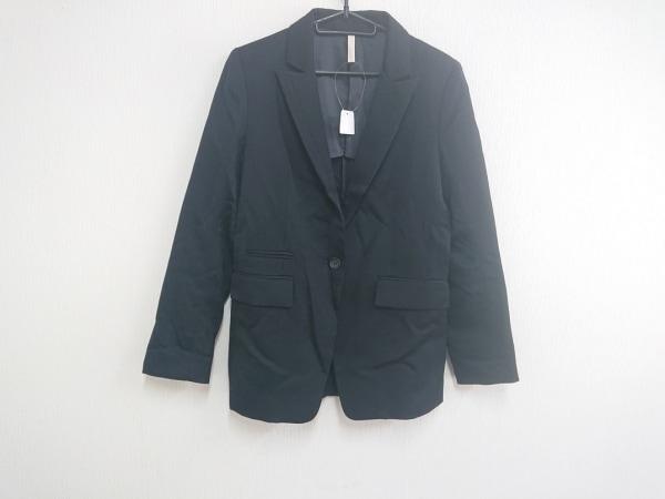 UNTITLED(アンタイトル) ジャケット サイズ3 L レディース美品  黒 ロング丈