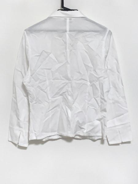 PICONE(ピッコーネ) 長袖シャツブラウス サイズ40 M レディース 白