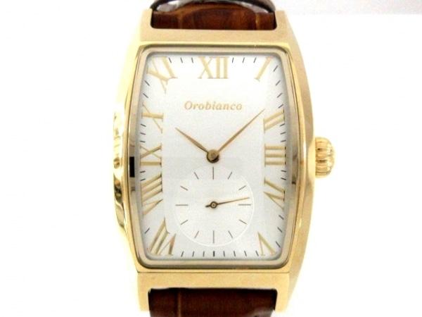 OROBIANCO(オロビアンコ) 腕時計美品  OR-0065A メンズ シルバー