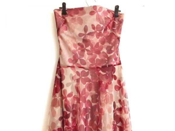 ビーシービージーマックスアズリア ドレス サイズ4 S レディース ピンク×レッド