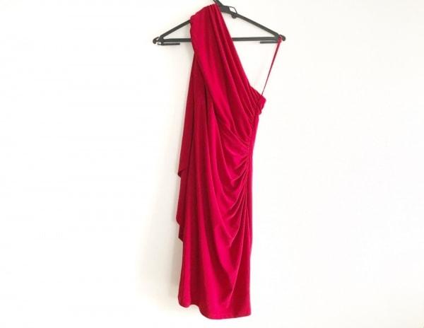 RalphLauren(ラルフローレン) ドレス サイズ4 S レディース美品  レッド