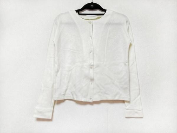TARO HORIUCHI(タロウホリウチ) カーディガン サイズ2 M レディース美品  白