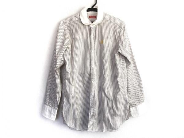 ボヘミアンズ 長袖シャツ サイズ0 XS メンズ アイボリー×ベージュ×ダークブラウン