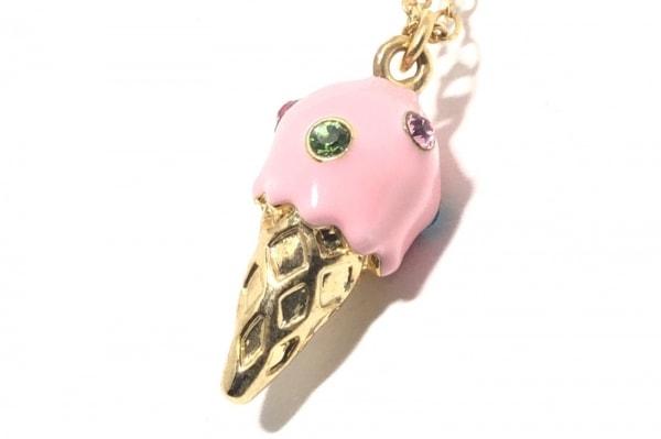 ANNA SUI(アナスイ) ネックレス 金属素材×プラスチック×ラインストーン