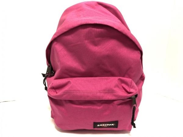 EASTPAK(イーストパック) リュックサック美品  ピンク×黒 ナイロン