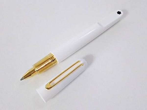 MONTBLANC(モンブラン) ボールペン - アイボリー×ゴールド レジン×金属素材
