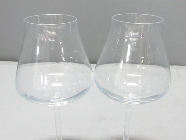 バカラ ペアグラス新品同様  シャトーバカラ クリア ワイングラス クリスタルガラス