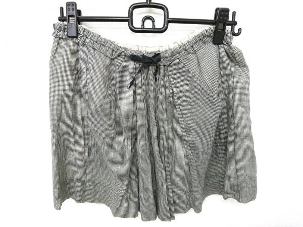 イザベルマラン ミニスカート サイズ0 XS レディース美品  黒×アイボリー チェック柄