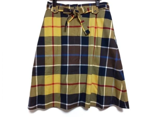 YORKLAND(ヨークランド) スカート サイズ11 M レディース美品  チェック柄