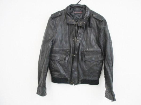 MORGAN(モルガン) コート サイズL レディース 黒 冬物/レザー