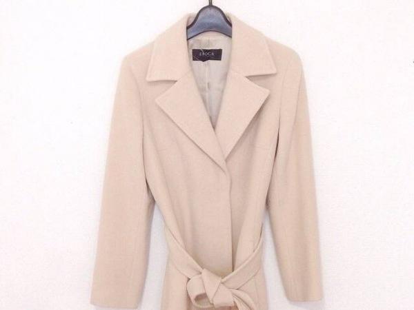 EPOCA(エポカ) コート サイズ40 M レディース美品  ベージュ 冬物