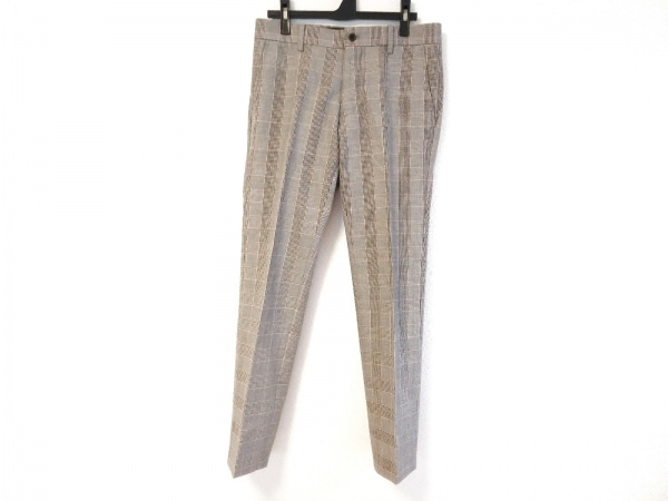 PaulSmith(ポールスミス) パンツ サイズM メンズ グレー×黒×マルチ チェック柄