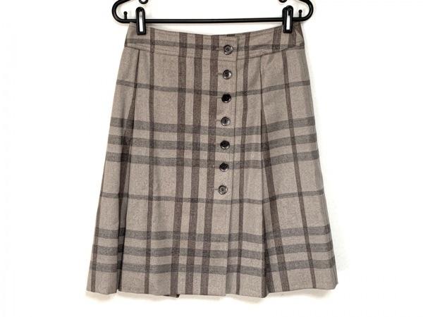 バーバリーロンドン スカート サイズ38 L レディース美品  チェック柄/ラメ