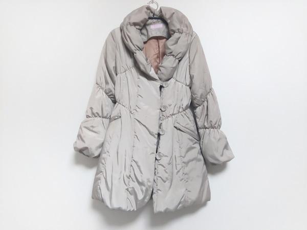 ミミ&ロジャー ダウンコート サイズ0 XS レディース美品  グレーベージュ 冬物