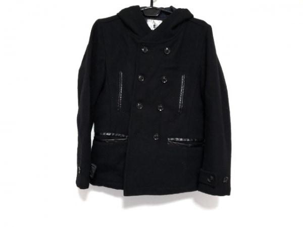 ティーケータケオキクチ コート サイズ2 M レディース美品  黒 冬物/ショート丈