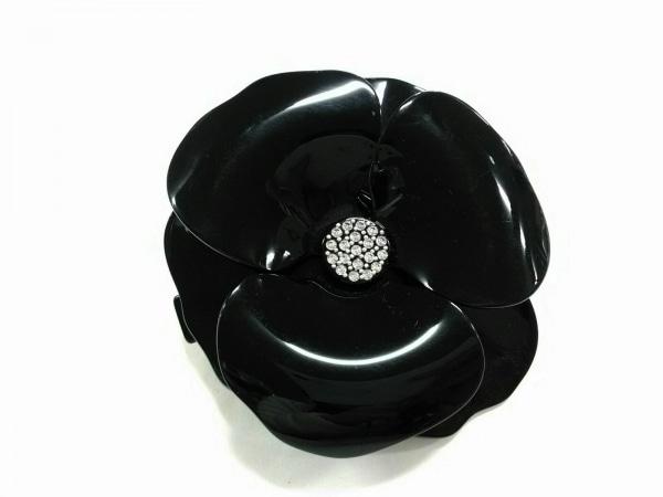 アレクサンドル ドゥ パリ バレッタ美品  プラスチック×金属素材 黒