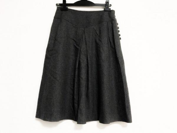 MargaretHowell(マーガレットハウエル) スカート サイズ2 M レディース美品  グレー
