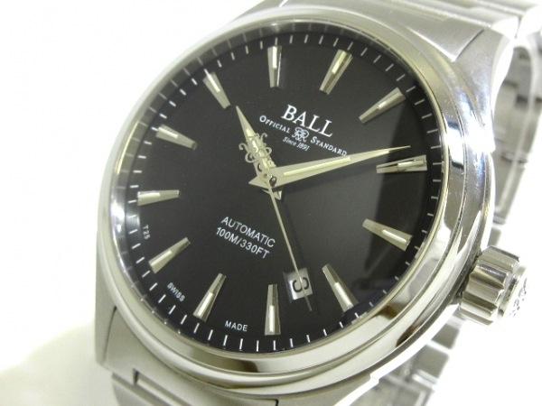 BALL(ボールウォッチ) 腕時計 ストークマン ヴィクトリー NM20980 メンズ 黒