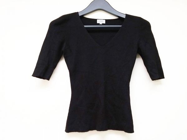 FOXEY(フォクシー) 半袖セーター サイズ38 M レディース 黒 Vネック