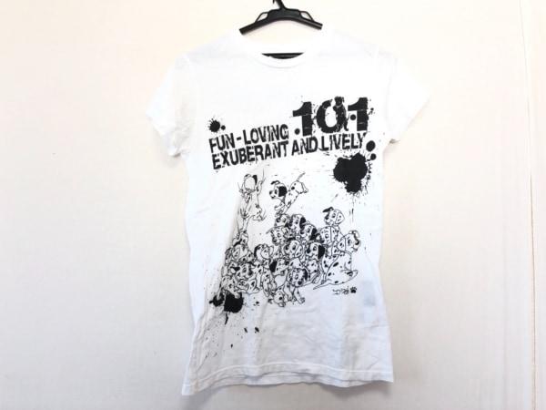 Ed Hardy(エドハーディー) 半袖Tシャツ サイズM レディース 白×黒