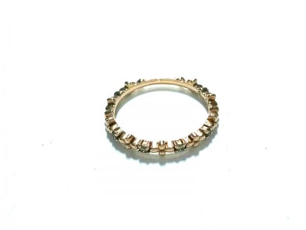 NOJESS(ノジェス) リング美品  K10×ダイヤモンド 4Pダイヤ/0.03カラット
