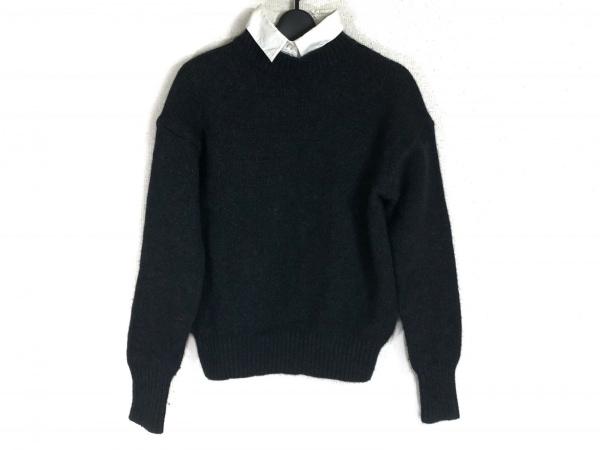 LE CIEL BLEU(ルシェルブルー) 長袖セーター サイズ40 M レディース ダークグレー