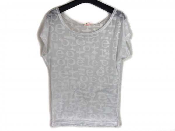 repetto(レペット) 半袖Tシャツ サイズM レディース 白
