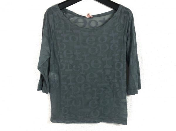repetto(レペット) Tシャツ サイズM レディース ダークグリーン
