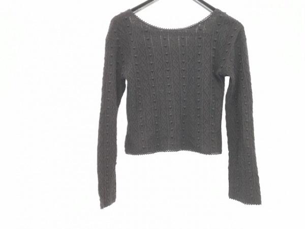 snidel(スナイデル) 長袖セーター サイズF レディース 黒