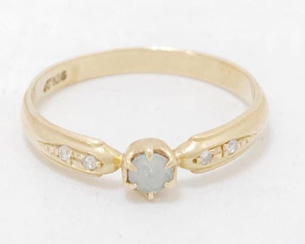 4℃(ヨンドシー) リング K18YG×ダイヤモンド×カラーストーン