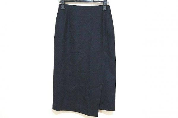 トゥモローランド ロングスカート サイズ36 S レディース美品  ダークネイビー
