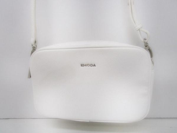 EMODA(エモダ) ショルダーバッグ 白 合皮
