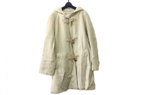 JUNKO SHIMADA(ジュンコシマダ) コート サイズ9 M レディース アイボリー 冬物