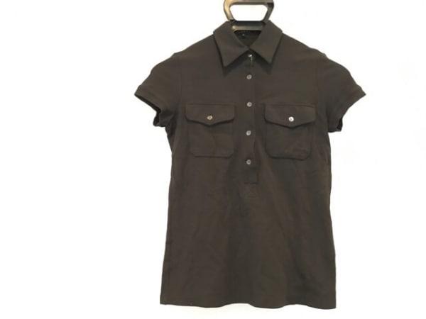 theory(セオリー) 半袖ポロシャツ サイズP M レディース 黒