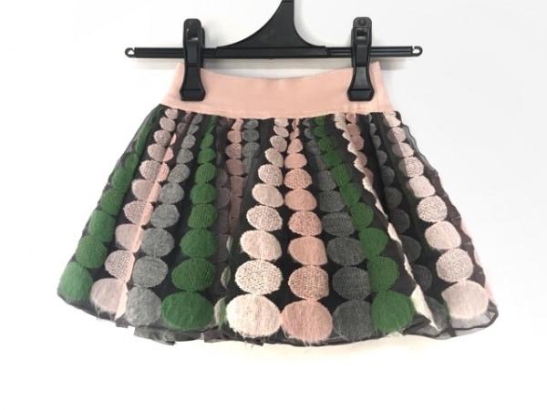 イピンコパリーノ スカート サイズ4 XL レディース ピンク×マルチ 子供服