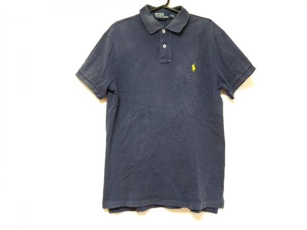 POLObyRalphLauren(ポロラルフローレン) 半袖ポロシャツ サイズL メンズ ネイビー