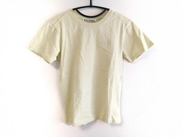 ACNE STUDIOS(アクネ ストゥディオズ) 半袖Tシャツ サイズS レディース美品  イエロー