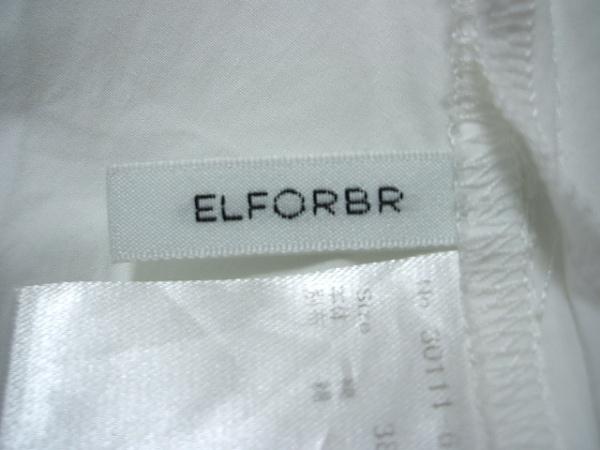 ELFORBR(エルフォーブル) チュニック サイズ38 M レディース 白