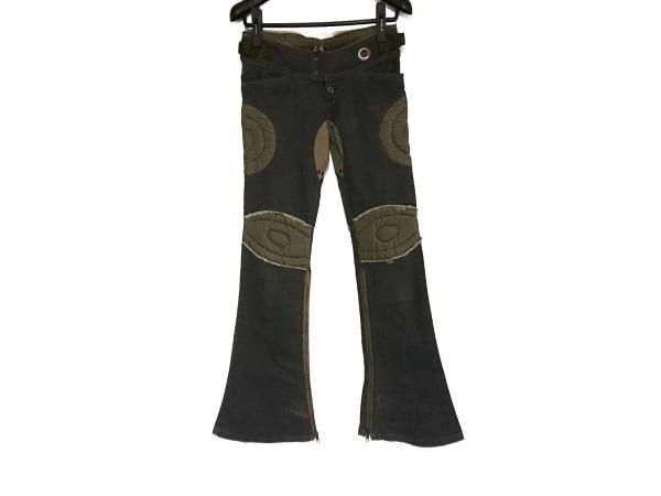 Le Grand Bleu(ルグランブルー) パンツ サイズ25 XS レディース グレー×カーキ