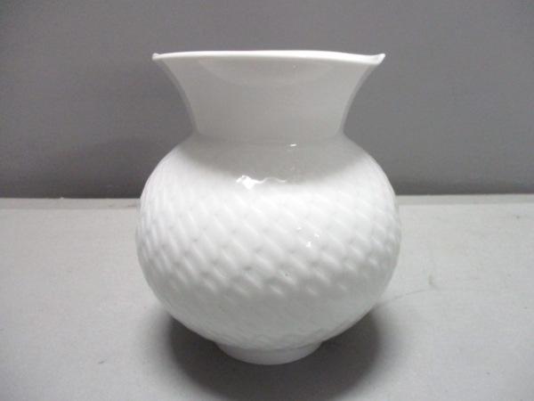 Meissen(マイセン) 小物 白 花瓶 陶器