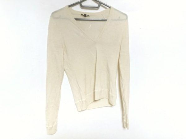 theory(セオリー) 長袖セーター サイズ2 S レディース美品  アイボリー