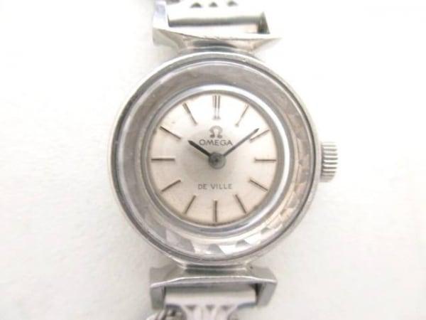 OMEGA(オメガ) 腕時計美品  デビル - レディース シルバー